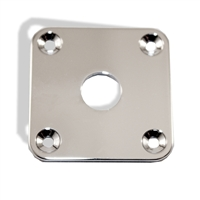 Jack Plate Square Chrome