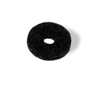 Strap button pad felt black