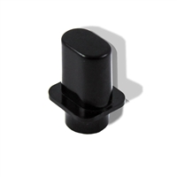 Knob lever switch american black