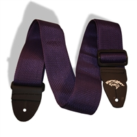 "2"" guitar strap purple"