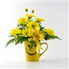 Smiley Bouquet in Mug