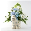 Baby Boy Arrangement in Ceramic Vase