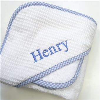 Gingham Hooded Towels