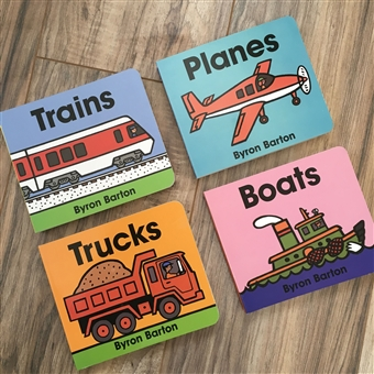 Byron Barton Board Books