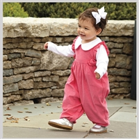 Bella Bliss Berkley Corduroy Overalls Fuschia