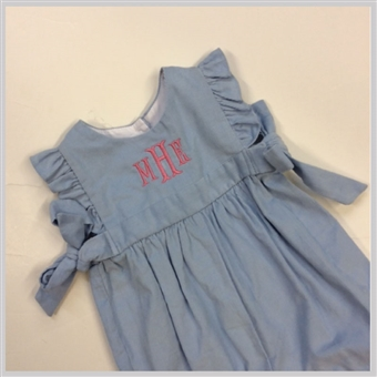 Bella Bliss Berkley Corduroy Overalls Blue