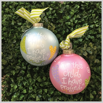 Christmas Ornaments - For this child