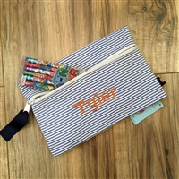 Blue Pencil Case Set