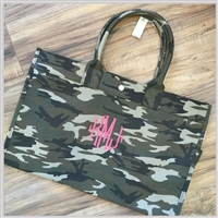 East West CAMO Tote