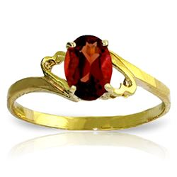 ALARRI 0.9 CTW 14K Solid Gold Nearly Outstanding Garnet Ring