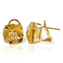 ALARRI 7.2 Carat 14K Solid Gold Provocative Citine Earrings