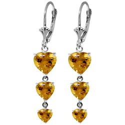 ALARRI 6 Carat 14K Solid Gold Excite My Imagination Citrine Earrings