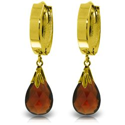 ALARRI 6 CTW 14K Solid Gold Jordana Garnet Earrings