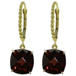 ALARRI 9 Carat 14K Solid Gold Dakota Garnet Earrings