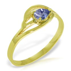 ALARRI 0.3 Carat 14K Solid Gold Ring Natural Tanzanite