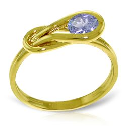 ALARRI 0.65 Carat 14K Solid Gold Dreaming Of April Tanzanite Ring