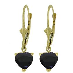 ALARRI 3.1 Carat 14K Solid Gold Cupid Intent Sapphire Earrings