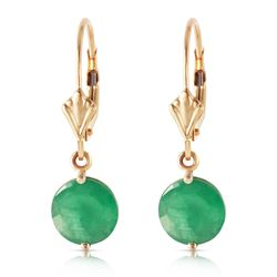 ALARRI 3.3 Carat 14K Solid Gold Prettygirl Emerald Earrings