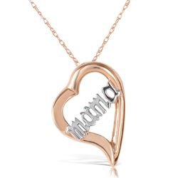 ALARRI 14K Solid Rose Gold Necklace