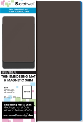 Thin Embossing Mat & Thin Magnetic Shim (set)