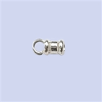 Sterling Silver Crimp End - Designed 2mm #2