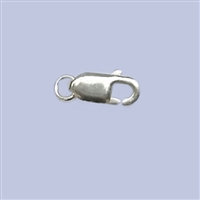 Sterling Silver Lobster - #1 9x3mm w/ring