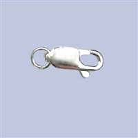 Sterling Silver Lobster - #2 10x4mm w/ring