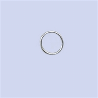 Sterling Silver Jumpring - Closed 6mm
