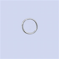 Sterling Silver Jumpring - Closed 7mm