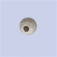Sterling Silver Stardust Beads - 7mm