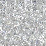 Swarovski 3mm 5301/5328 Bicone - Clear Crystal
