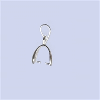 Sterling Silver Bail - Small #1