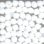 Swarovski 3mm 5301/5328 Bicone - White Alabaster Color
