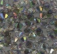Swarovski 4mm 5301/5328 Bicone - Virtrail Medium Color