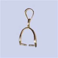 18k Gold over Sterling Silver Bail - Large #3