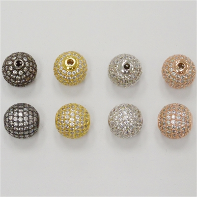 Bead - Round 12mm Clear