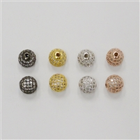 Bead - Round 8mm Clear