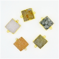 Gold Square Medium