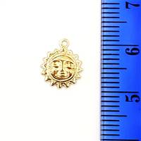 Gold Filled Sun Charm