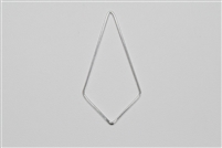 Sterling Silver Links - Kite Shape 21mm x 40mm