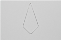 Sterling Silver Links - Kite Shape 25mm x 50mm