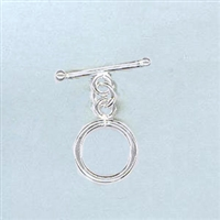 STG-02 12mm Ring. Sterling Silver