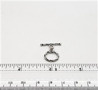 STG-26 13mm Ring. Bali Sterling Silver