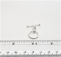 STG-09 14mm Ring. Sterling Silver