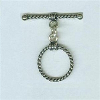 STG-10 16mm Ring. Bali Sterling Silver