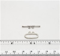 STG-17 19x11mm Ring. Sterling Silver