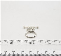 STG-28 16x14mm Ring. Sterling Silver
