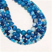 Agate Blue 4mm
