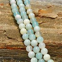 Agate Teal 12mm