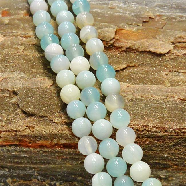 Agate Teal 8mm
